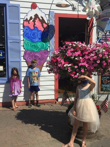 Charlotte Birthday Ice Cream in Boothbay Harbor 1