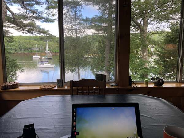 My Office in Maine