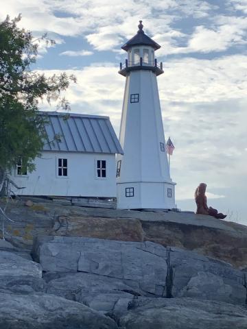 Lighthouse on Snow Island