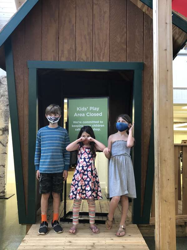 LL Bean - Play Area Closed