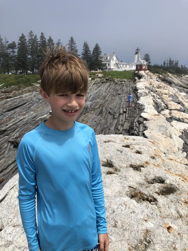 Andrew at Pemaquid Point Lighthouse