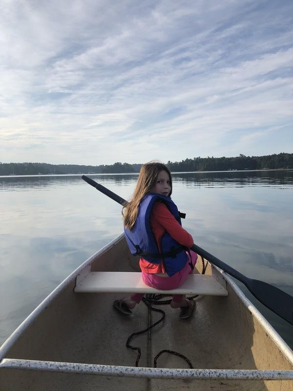 Annabelle In the Canoe