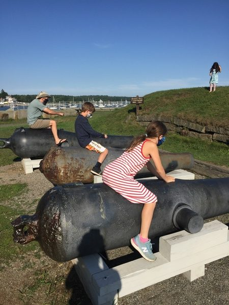 Racing Cannons at Fort McClary