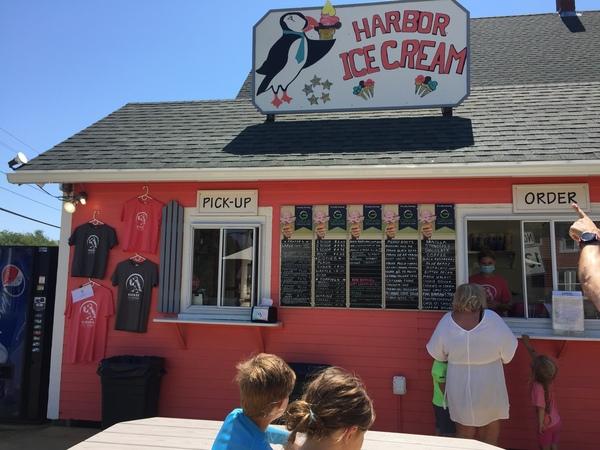 Harbor Ice Cream, New Harbor, ME